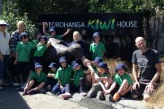 Junior rooms visit to Otorohang Kiwi House